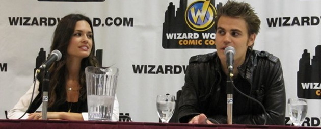 Gallery: Paul Wesley & Torrey DeVitto in Toronto!