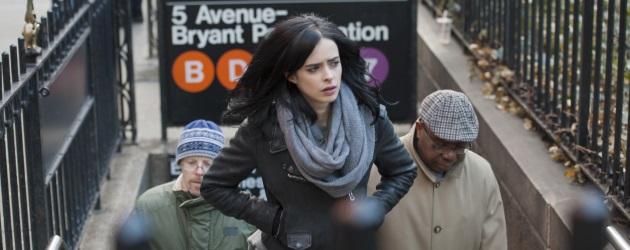 "Marvel's Jessica Jones - Season 1 - Production Stills 09 Krysten Ritter in the Netflix original series ""Marvel's Jessica Jones"". Photo Credit: Myles Aronowitz/Netflix"