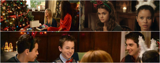 The holiday episode of The Fosters started where we left off, with Callie making out with Brandon. You know, I want to be mad at the part where she says maybe […]