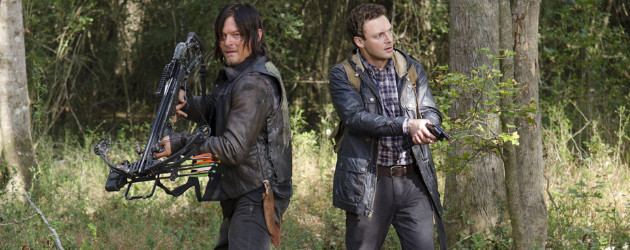 """Excrement hits the fan in """"Try"""", the penultimate episode in Season 5 of The Walking Dead, but only after love blossoms in the air. Deanna and family sit in the […]"""